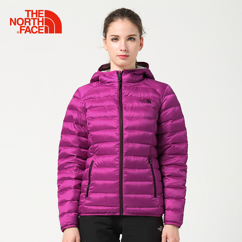 TheNorthFace North Autumn and Winter New 700 Peng Down Can Pack Female Down Jacket |CTW0