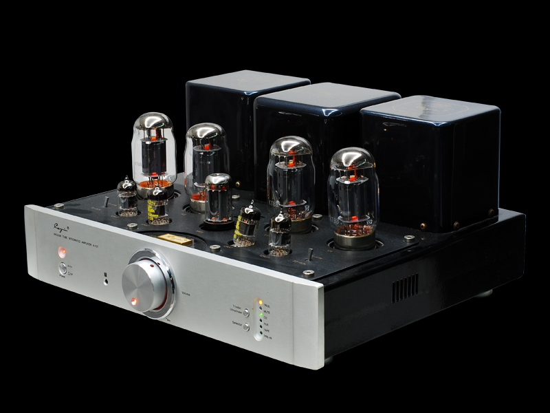 Spock A-70T integrated / pure after-stage vacuum tube audio power amplifier brand new licensed