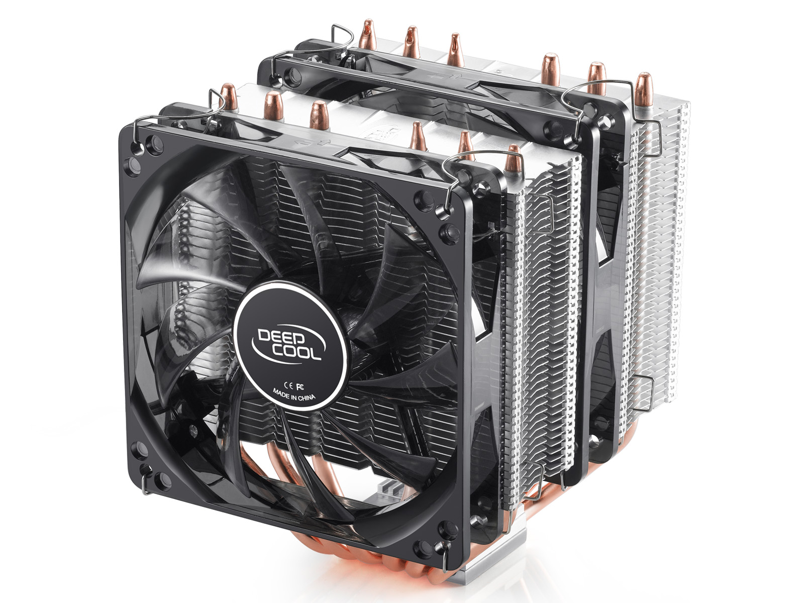 [The goods stop production and no stock]Kyushu Fengshen Big Frost Tower Standard Version CPU Radiator 6 Heat Pipe Player-level Heat Dissipator Dual Fan
