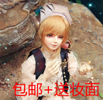 Vanilla red wooden original BJD dolls young Eva third-class to send our entire airbrush makeup