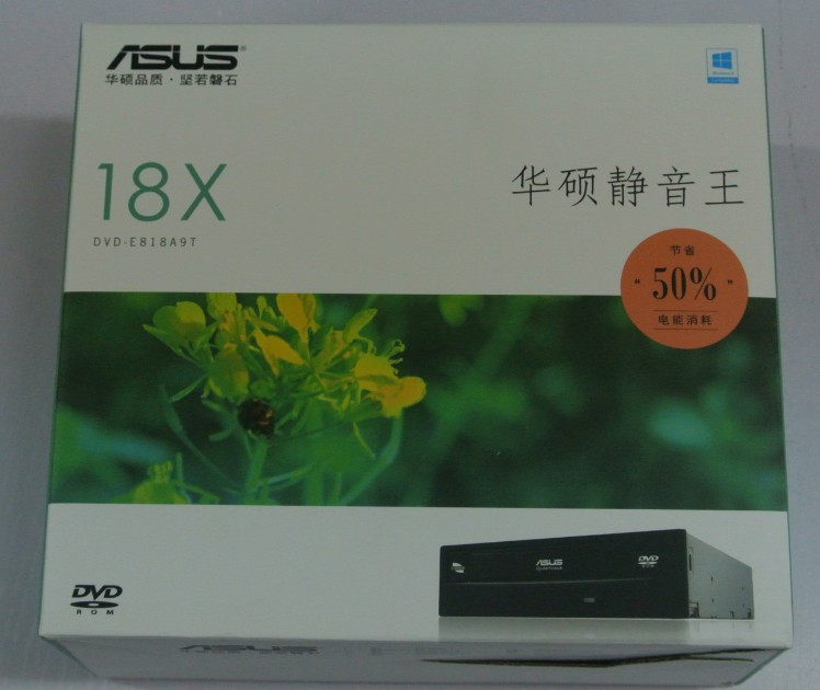 ASUS DVD-E818A9T 18-speed DVD CD-ROM non-burner box-mounted genuine