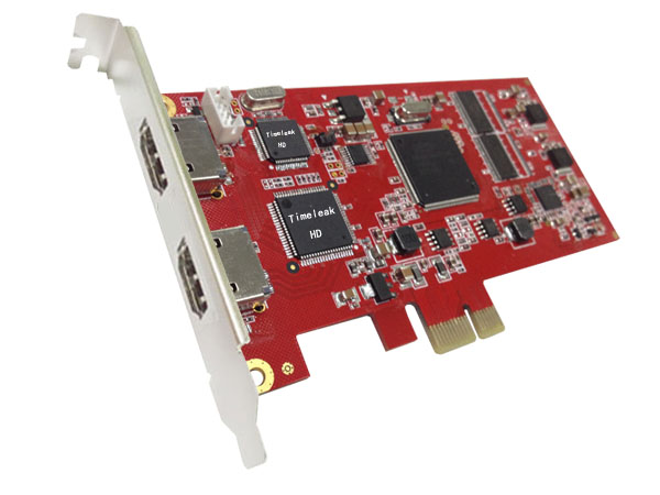 When the HD capture card HD72B HDMI video card PS4 live card PCI-E slot with HDMI output