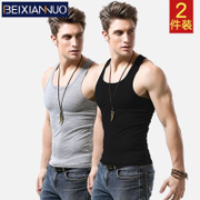 Vest modal Summer Youth Lycra gym type hurdle - backing T-shirt