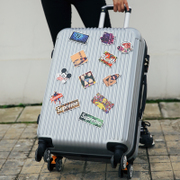Trolley caster 24 inch suitcase suitcase board box 20 male female student password box 26 boxes.