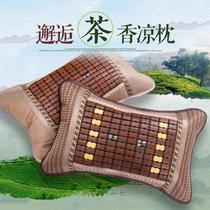 Bamboo cool Mahjong mat pillow pillow pillow covers in the summer the summer adult ice tea neck pillow memory pillows