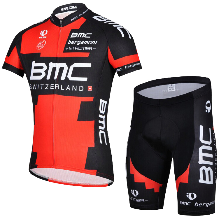 Cycling Suit Men's Short Sleeve Suit Bicycle Suit Bicycle Suit Summer Sports Team New Product Baoyou 14BMC