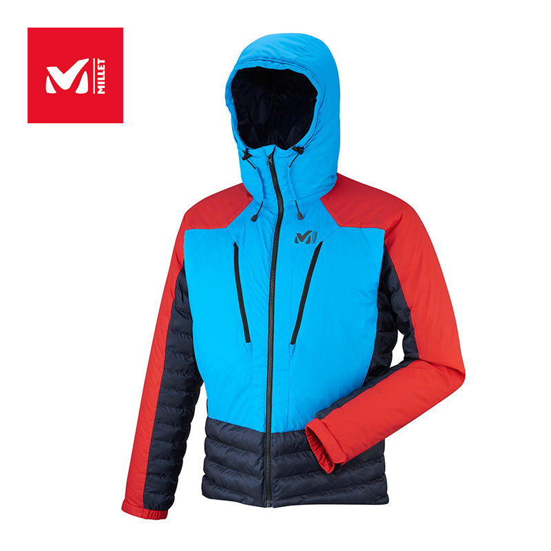 MILLET Men's Winter Outdoor Sports Mountaineering Portable Waterproof and Warm-keeping Cotton Clothing MIV7059