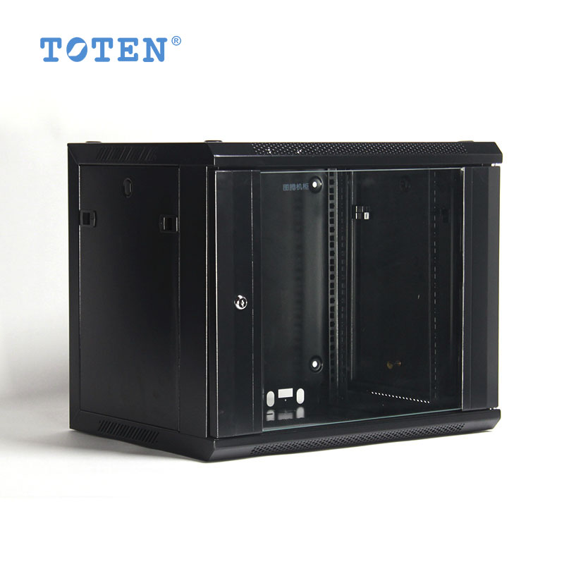 TOTEN Totem Wall Cabinet W26409 Black and White Network Cabinet 9u Cabinet 600*440*502