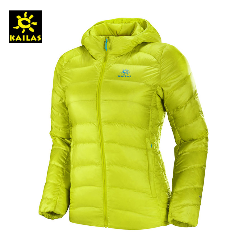 KAILAS/Kelestone Female Outdoor Sports Outdoor with Cap, Down, Comfortable and Heating Coat KG320065