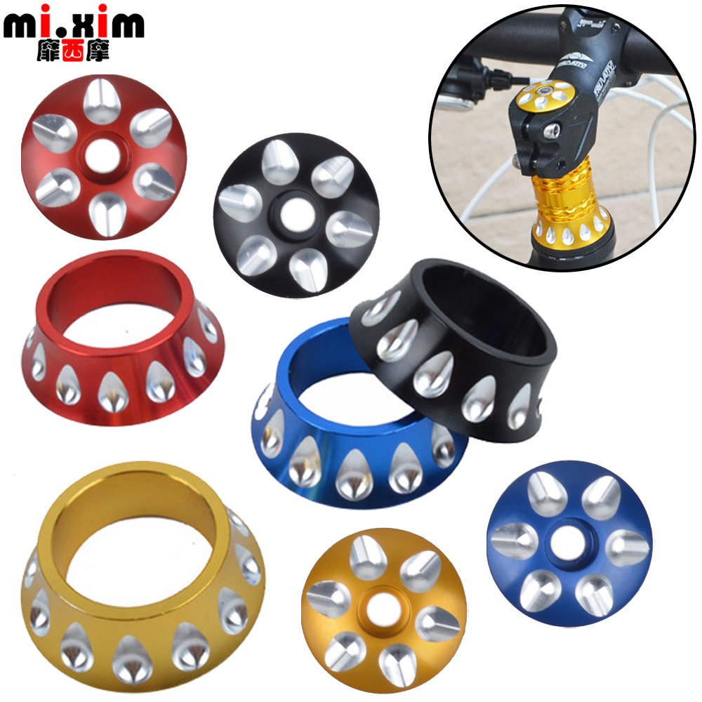 Mixim aluminum drop bowl cover top cover riser top cover horn drop front fork washer ring