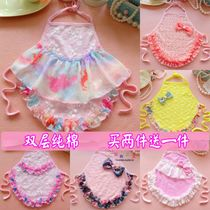 Baby dudou thin women in spring and summer the baby cotton Ah dull and little Princess lace belly wall 1-2 0-36 months