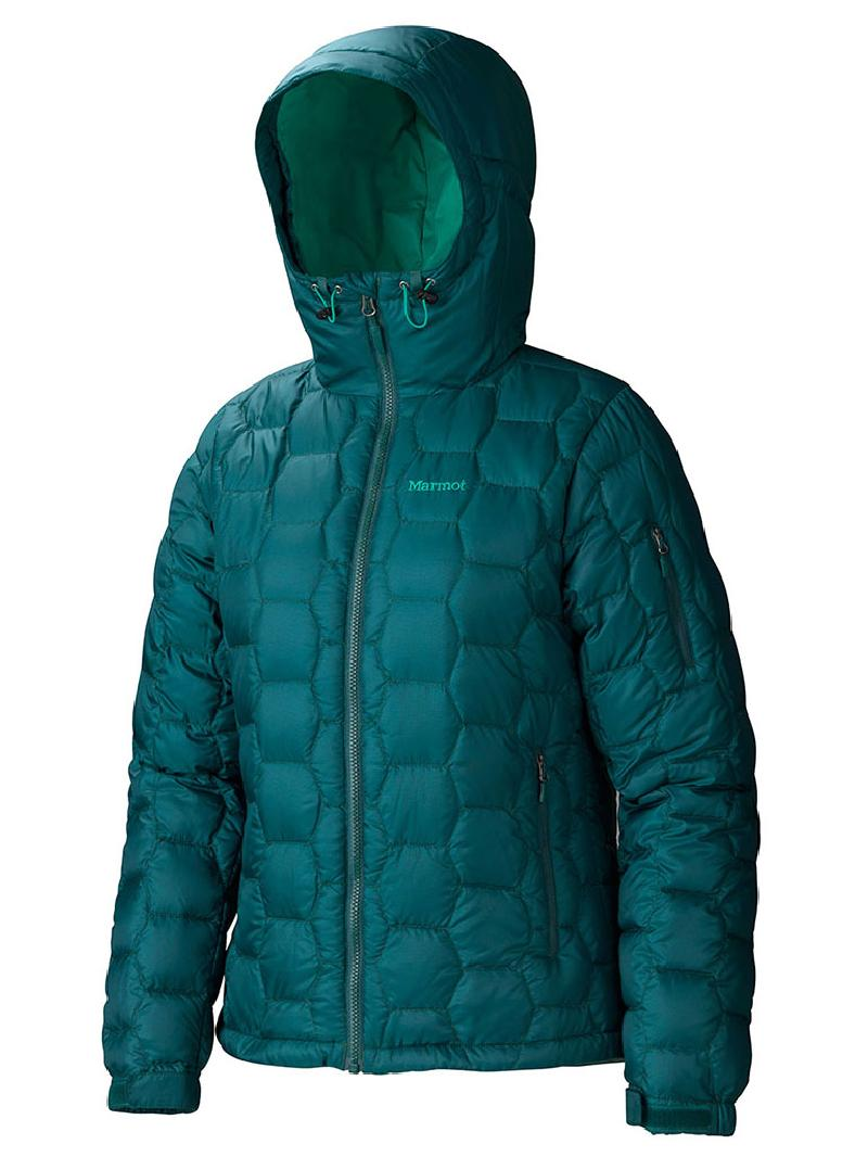 American Direct Mail MARMOT/Mammoth Mountain 77790 Women's Fluffy 800 Hood Zipper Outdoor Downwear