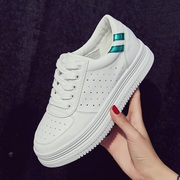 2017 new summer white shoes shoes breathable shoes fashion Korean thick shoes all-match spring shoes