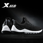 XTEP men's brand summer sport shoes black air max shoes mens lightweight running official flagship store