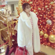 Haining winter new Korean imitation fur coat in the long thin fur coat with a female lover Gao Wen Clarke