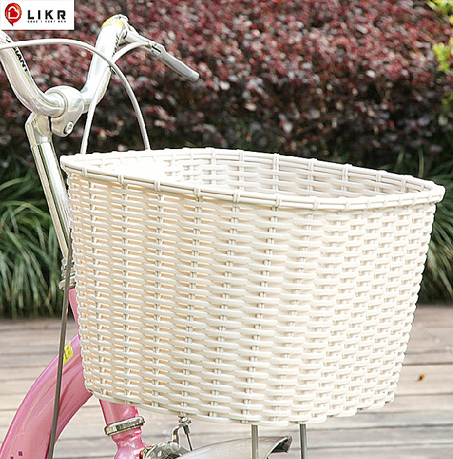 Bicycle Basket, Motorcycle Basket, Mountain Bike Basket, PP Environmental Protection Vegetable Basket, Electric Vehicle Folding Basket Accessories