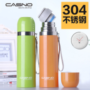 Casino female man ins stainless steel thermos cup cup large children portable bottle cup customization