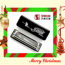 Swan 10 hole Bruce C harmonica child SW1020 birthday gift N
