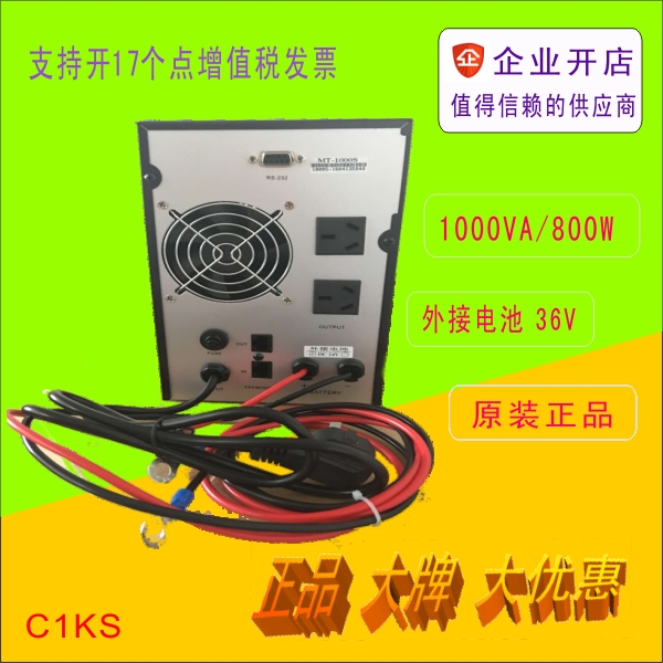 SHANTE Uninterruptible Power Supply C1KS Host 65AH 3 Battery Cabinets Delay 2 hours