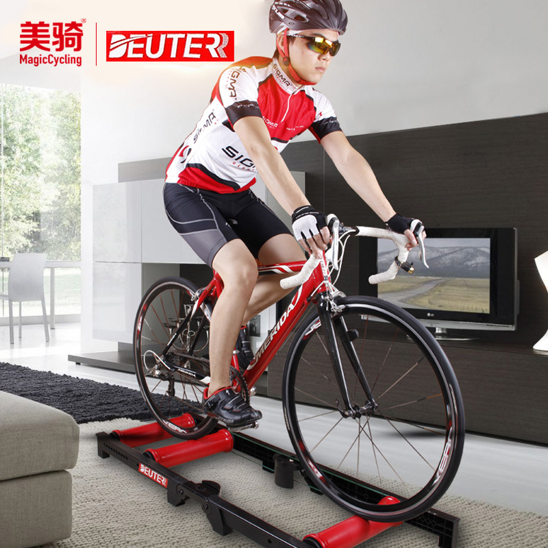 DEUTER Bicycle Indoor Rider Mute Cycling Training Desk Free Installation Quick Folding