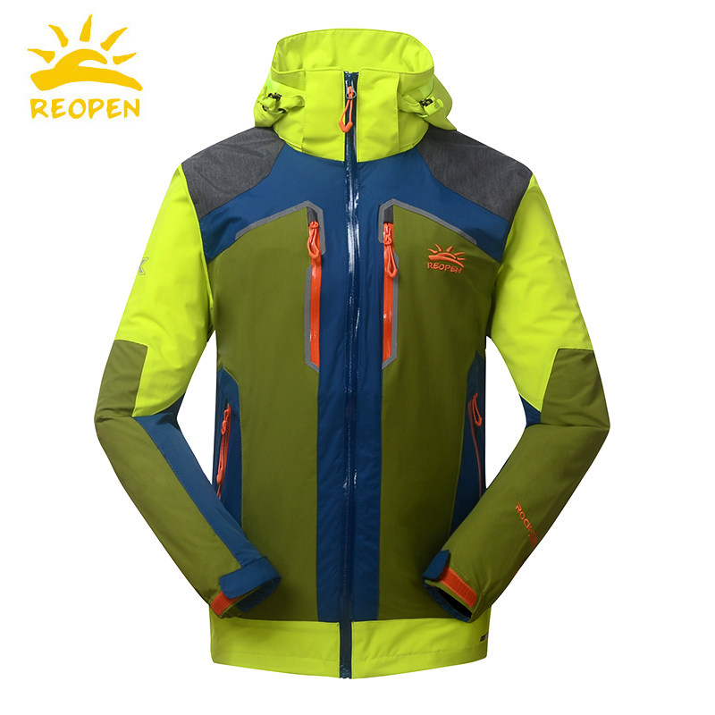 Sun Stone 2018 Autumn and Winter New Outdoor Charge Clothes for Teenagers Waterproof and Air-permeable Single-layer Mountaineering Clothes for Boys