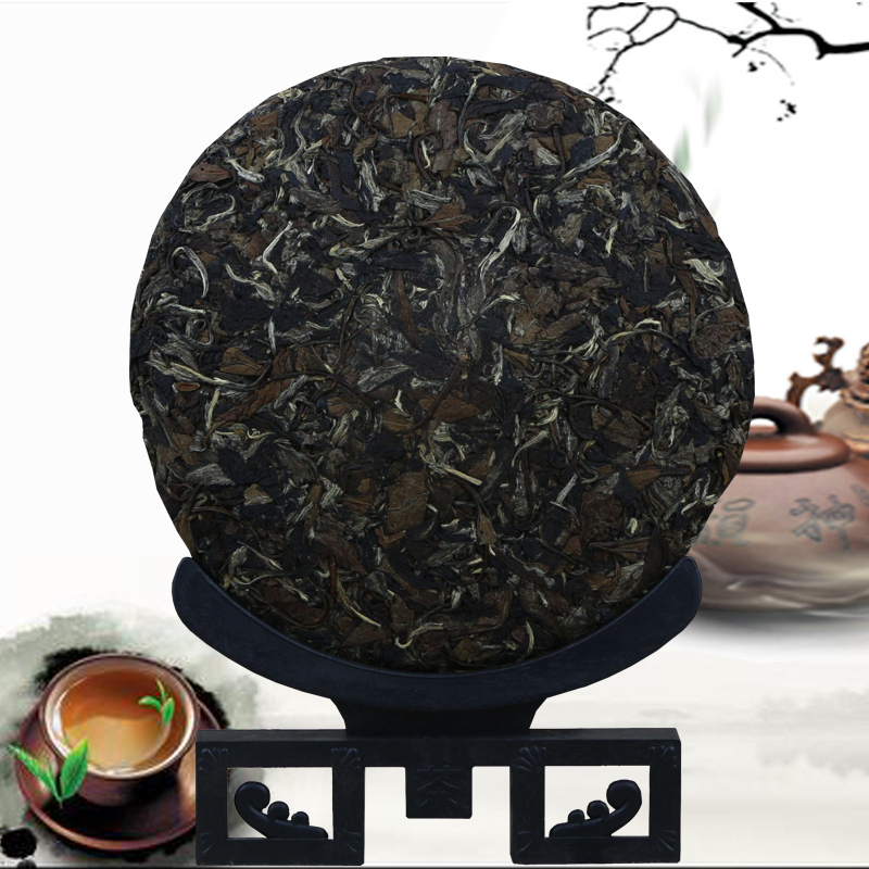 Pinhao Cinnamon Fuding White Tea 2008 Mingqian White Peony Vintage Zen Tea Cake Delivery Exquisite Gift Box