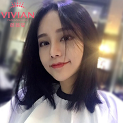 Vivian short hair female wig half head U type semi headgear BOBO net with long red hair VS08 clavicle