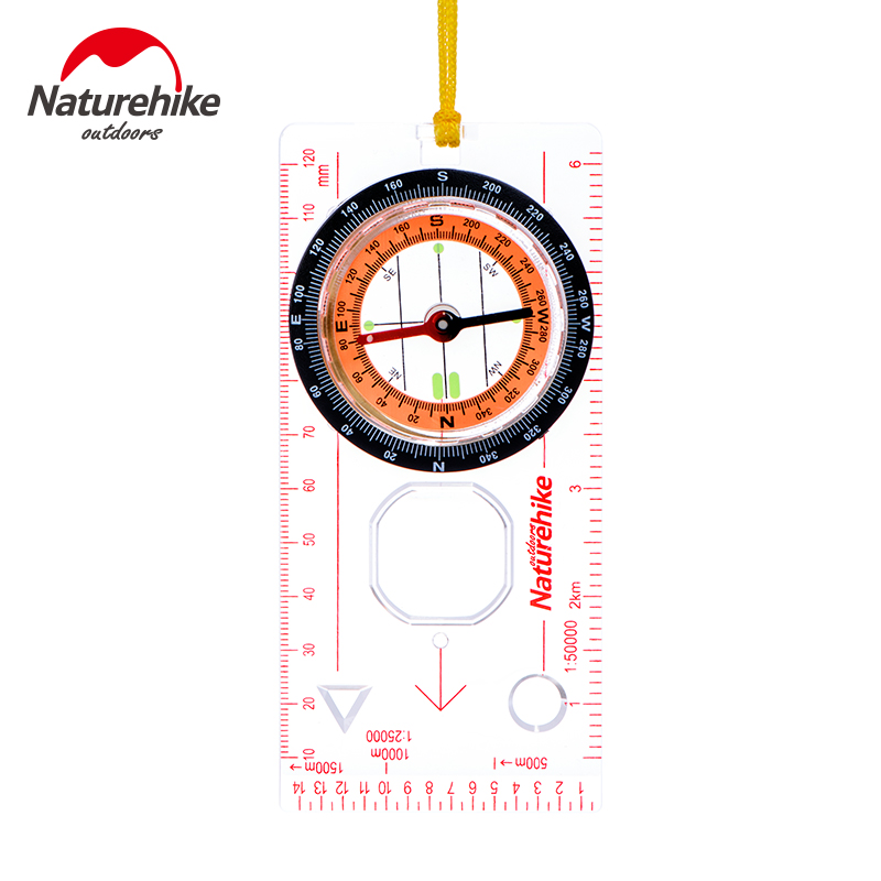 [The goods stop production and no stock]NH orienteering compass authentic hanging neck lanyard outdoor travel sport sports multifunction compass compass