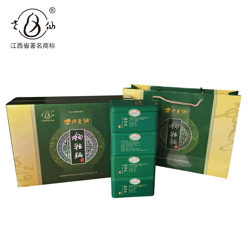 2018 Green Tea Dog Yunao Green Tea Gift Box Budding Tea Pre-Ming Tea Gift Box Jiangxi Specialty