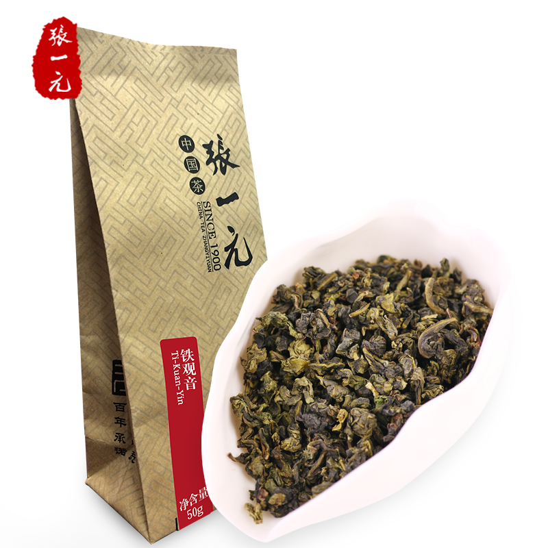 Zhang Yiyuan Tea Oolong Tea Tieguanyin Oolong Tea Tieguanyin Tea 34/50g