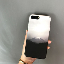 (Any three) mood of minimalist black and white ink iPhone7 Plus 6s shell Scrubs