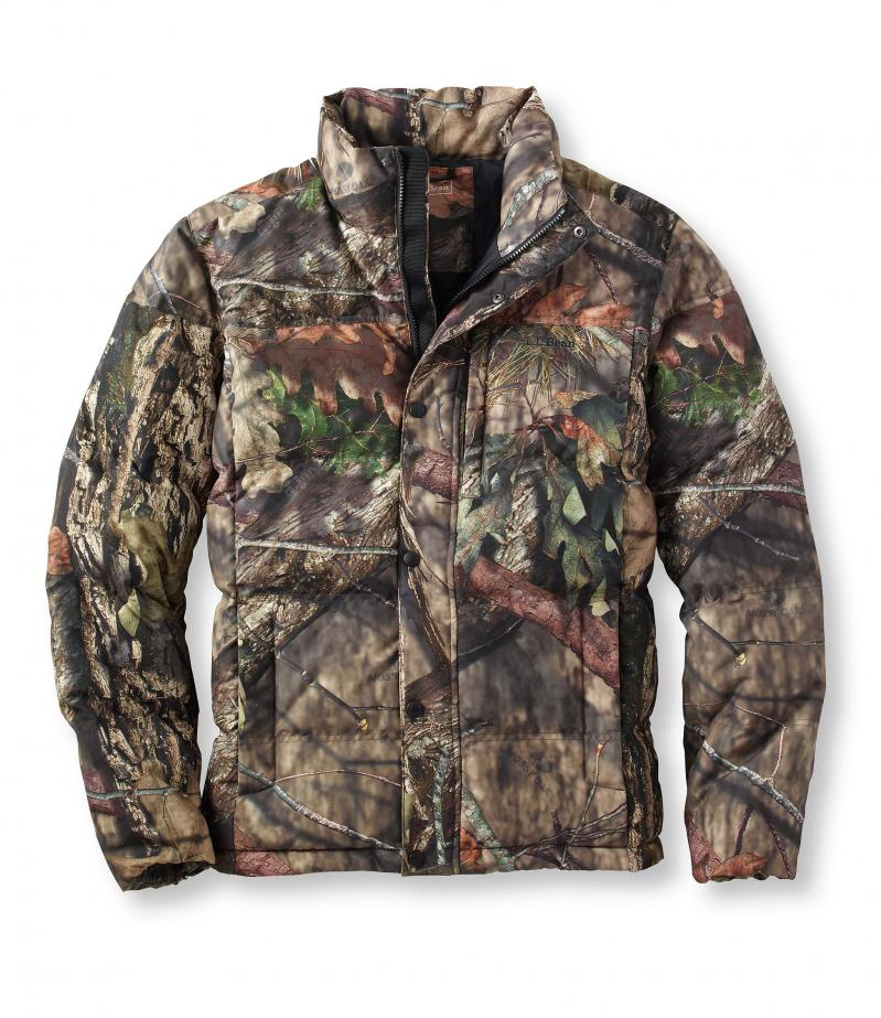 American direct mail L.L. Bean genuine TA296016 outdoor thermal life-saving CS game camouflage down jacket men
