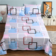 Seven single dormitory bed sheets of gold of 1.8 meters double bed sheets were only 1.5m1.6/2.3 meters