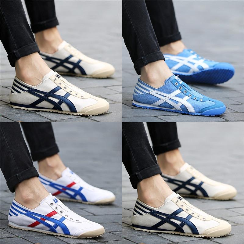 Giày lười nam, chất liệu vải cao cấp, nằm trong bộ sưu tập mùa hè