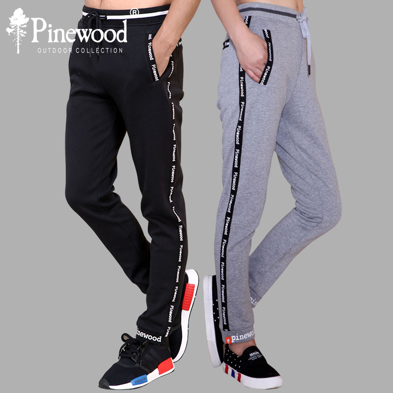 Swedish Pinewood Panfog New Men's and Women's Heating, Wind-proof and Thickened Down Compound Sports and Fitness Pants