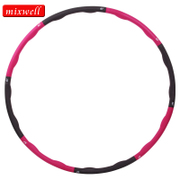 Foam hula hoop thin waist women's adult weight loss increase detachable hula hoop fitness circle genuine
