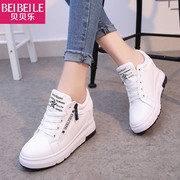 A lady in the spring of 2017 new shoes casual shoes and sports shoes increased Korean students all-match tide running shoes