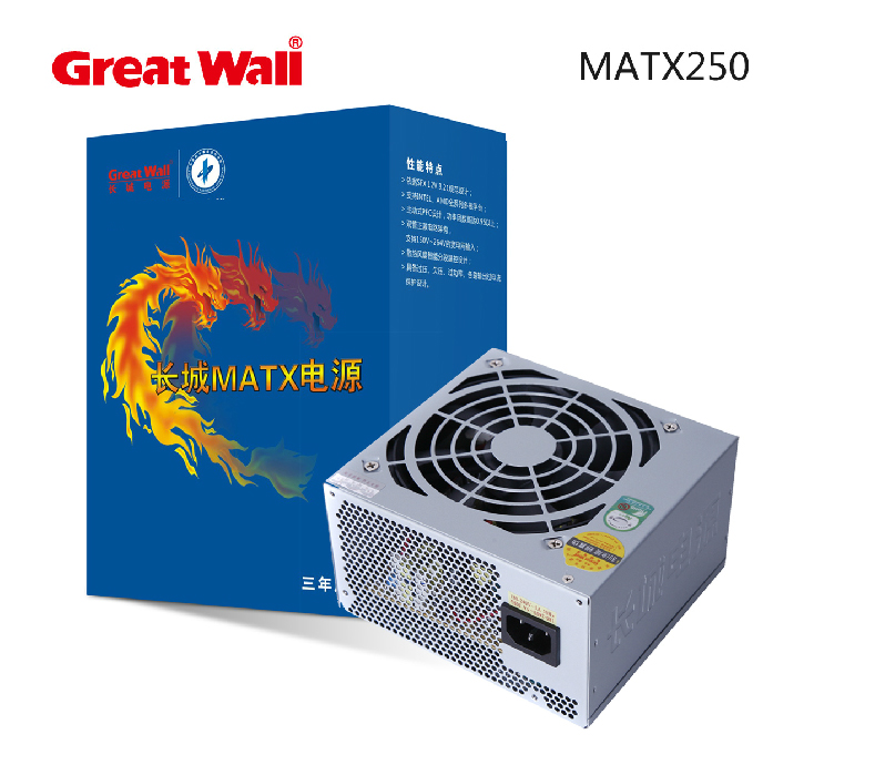 Great Wall Great Wall Power Supply MatX250 Rated 220W Small Power Supply Desktop SFX Power Supply