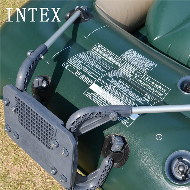 Real INTEX inflatable boat motor support rubber boat support fishing boat support