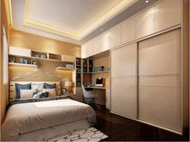 Chongqing area modern minimalist style overall wardrobe bedroom furniture custom.