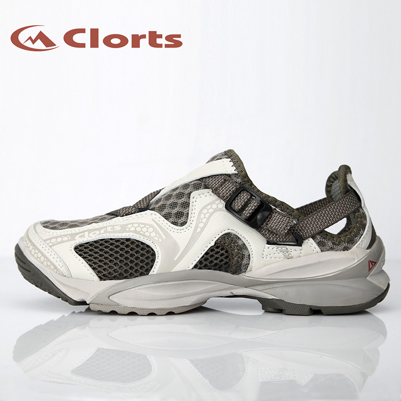 Clorts Luo Chi red spring and summer river speed interference water shoes amphibious shoes fishing 朔溪 slip outdoor shoes for men and women