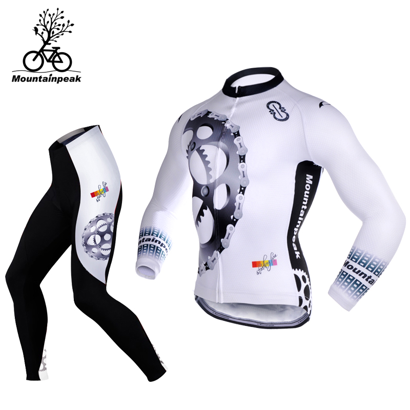 MTP Jersey Long Sleeve Set Men and Women Summer Cycling Shorts Bicycle Suit Mountain Bike Equipment Jersey