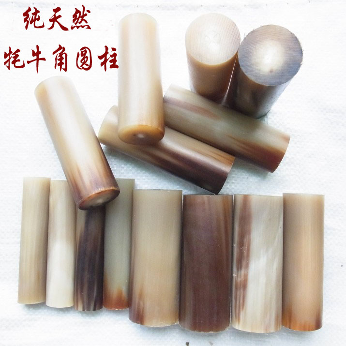 White Yak Solid Corner Point Material Solid Corner Cylindrical Fotou Bead Hand String Material Pipe Material