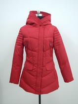 Original export single tail cargo slim waist single ladies down jacket XL special offer