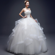 2017 new spring wedding bride wedding dress bra slim Qi slim skirt female Korean spring