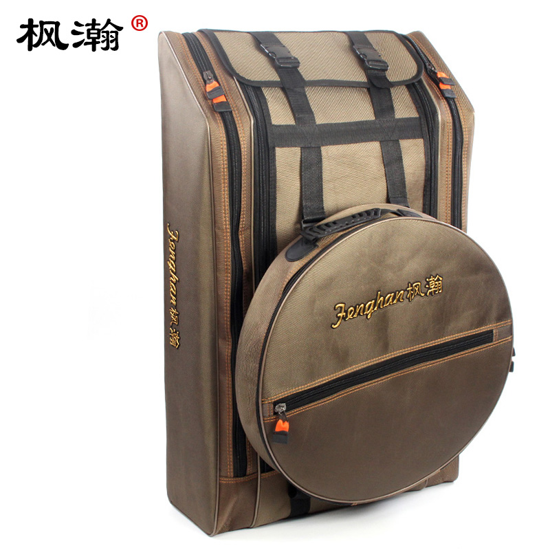 Fengfeng waterproof fishing bag, fishing chair bag, large shoulder bag tool bag, fishing gear bag, fishing bag, backpack fishing gear