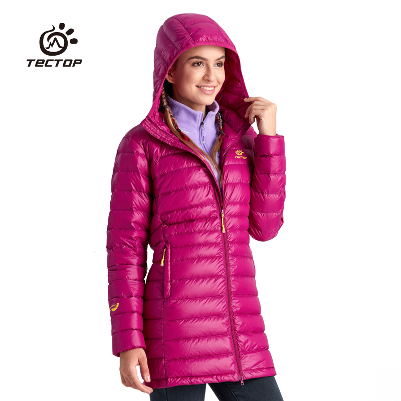 [The goods stop production and no stock][The goods stop production and no stock]TECTOP Women's Long Down Jacket YW6836