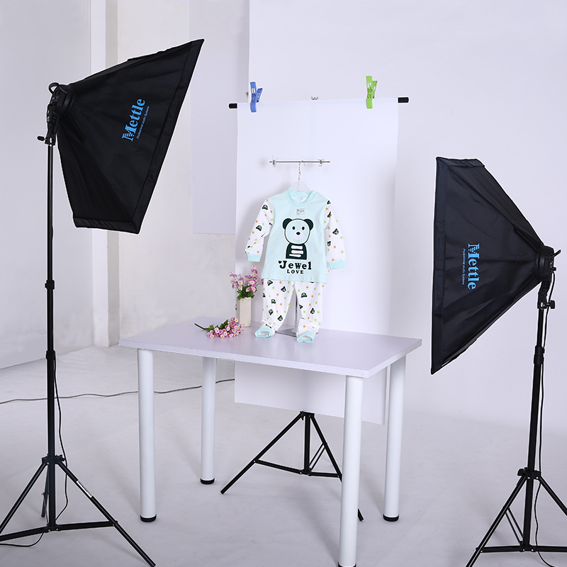 Mito Photography Light Kits Quad Light Softbox Studio Sets Clothing Portrait Products Photographic Equipment