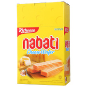 Tmall supermarket Li Indonesia imported cheese nabati nabao Dili cheese wafers 200g snacks