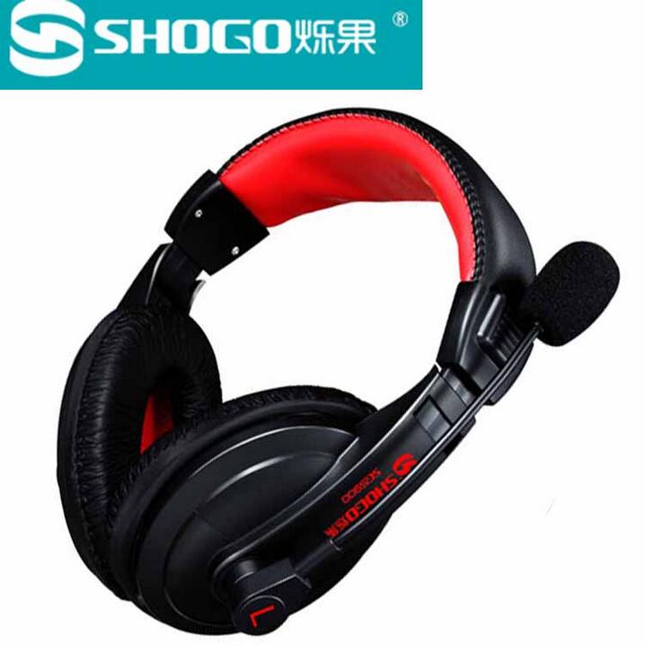 [The goods stop production and no stock]Sparkling fruit SG-5900 wired headset headset type headset music subwoofer computer mobile phone TV